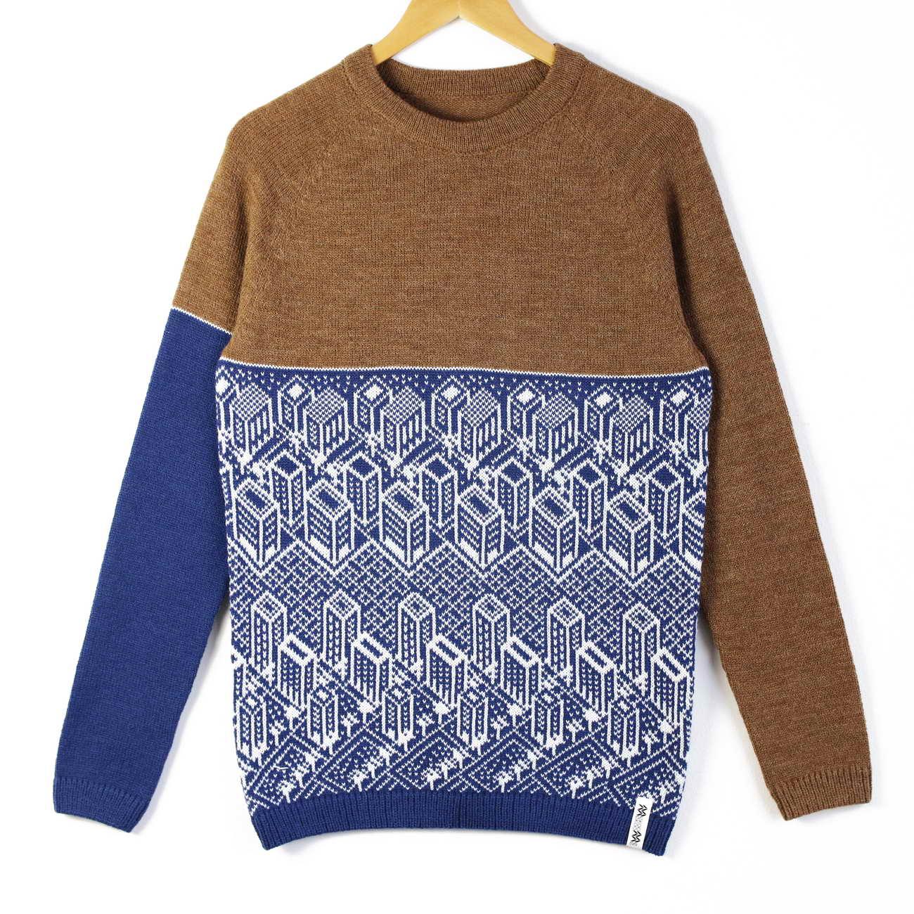 sweater Urban brown top blue bottom