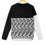 sweater No Exit black top white bottom11