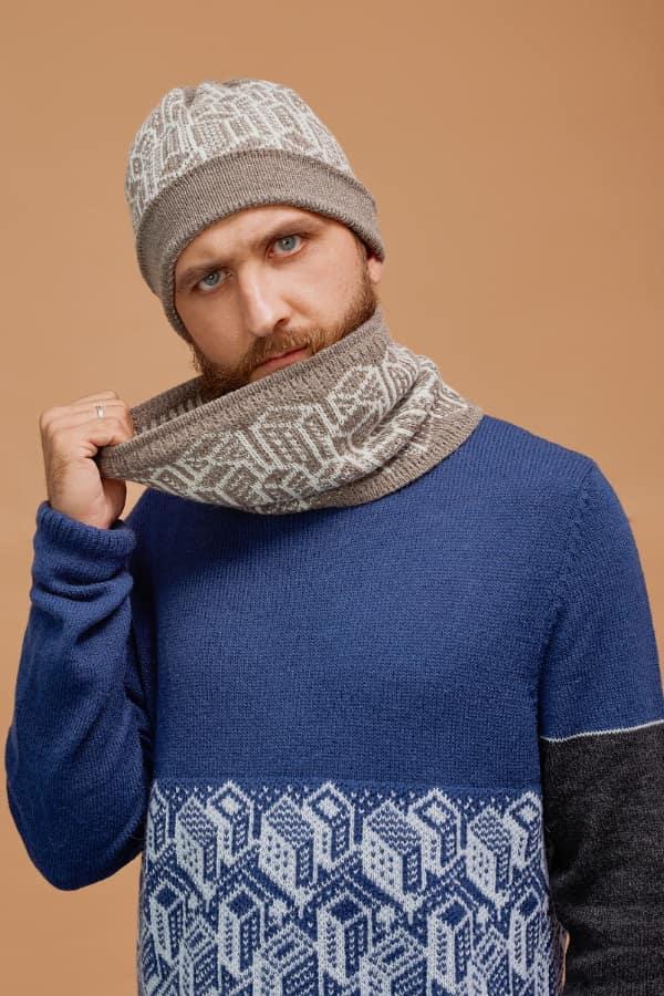 sweater Urban blue frost min 3